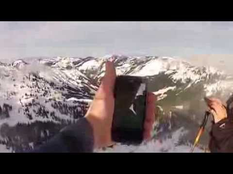 Straight Talk Cell Phone Verizon Towers Top of KING Skiing Crystal