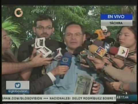 Vielma Mora dice que venezolanos cruzaron la frontera para divertirse