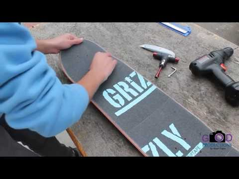 Setting Up My New Skateboard : Stuart Trejos