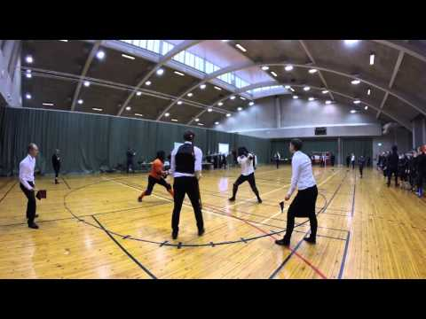 Helsinki Longsword Open 2016 - Men's pool 6