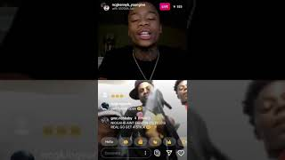 NCG  Kenny B Beefing With Opps On iG Live