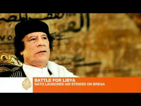 Gaddafi vows to fight on