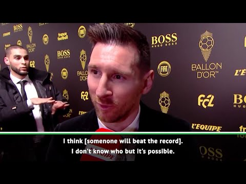 Lionel Messi believes someone will beat his Ballon d'Or record