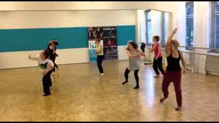 Modern Dance-Workshop mit Sandra Müller, union DANCE BASE, 2.3.2013