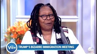 TRUMP Keeps Flip Flopping On The Wall & Dreamers - The View