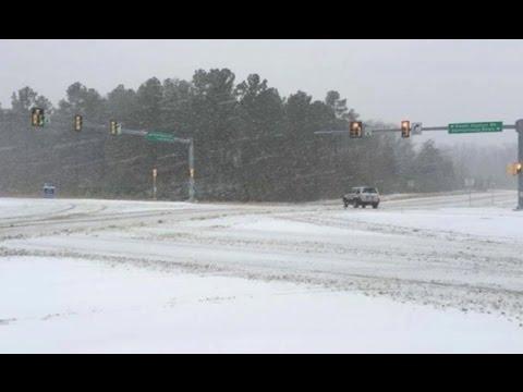 Blizzard paralyses US East Coast - winter storm Jan 2016
