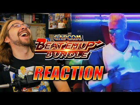 MAX REACTS: Cpt. Commando Is REAL - Capcom Beat 'Em Up Launch Trailer