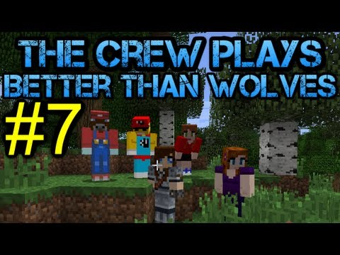 Minecraft - Better Than Wolves Let's Play - Episode 7 - Danny has a weight problem!