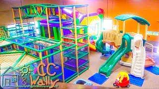 Indoor Playground Fun for Kids at Monkey Bizness | Slides Bouncy Balls Children's Play Center