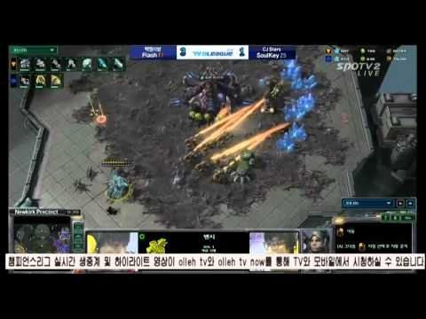 SPL [03.31] Flash(T.B.L.S) vs Soulkey(CJ Stars) 5SET / Newkirk Precinct - Starcraft 2,esportst
