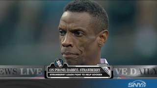 Darryl Strawberry leads the fight for Dwight Gooden