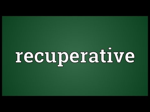 Header of recuperative