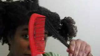 2010 HAIRstory  - detangling with ECO oliveoil GEL
