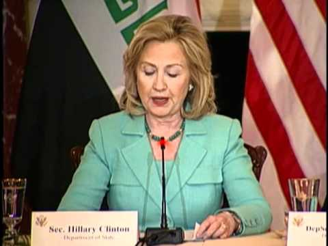 Secretary Clinton Speaks at the Business Forum Promoting Commercial Opportunities in Iraq