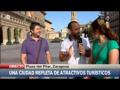 El turismo en verano en Zaragoza / Summer tourism in Zaragoza