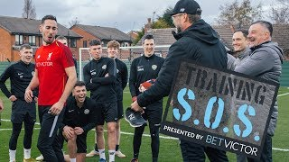 Klopp & Co give amateur side training session of a lifetime! | BetVictor 'Training SOS' Series 2 Ep2
