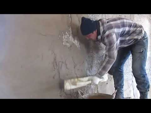Штукатурка стен своими руками арболита 41