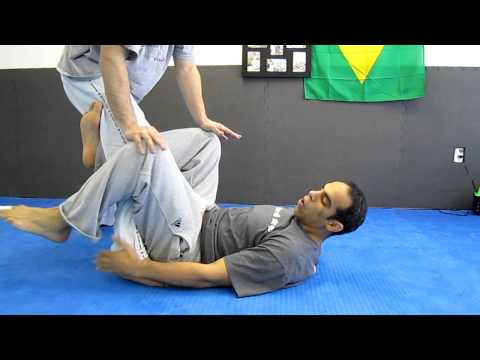 BJJ Reverse De La Riva Sweep Finish when countered Image 1