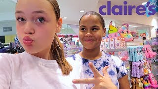 CLAiRE'S SHOPPiNG CHALLENGE! 6 iTEMS