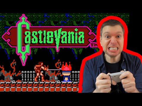 Castlevania NES Video Game Review S5E10   The Irate Gamer