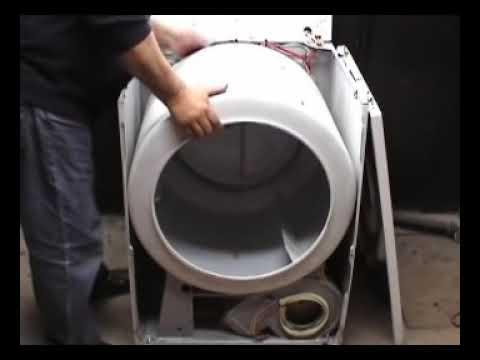 Taking Apart Performa Electric Dryer Youtube
