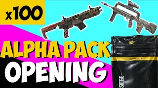 Rainbow Six Siege: Shifting Tides - ALPHA PACK OPENING