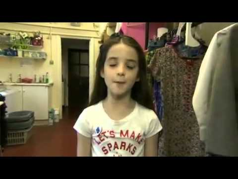 Matilda the musical -Backstage