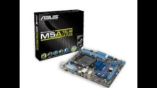 Unboxing & Review Asus M5A78L-M LX PLUS AM3+
