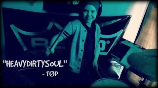 MILANA - HEAVYDIRTYSOUL [CLIP] TWENTY ONE PILOTS - 8 year old girl drummer, Heavy Dirty Soul cover