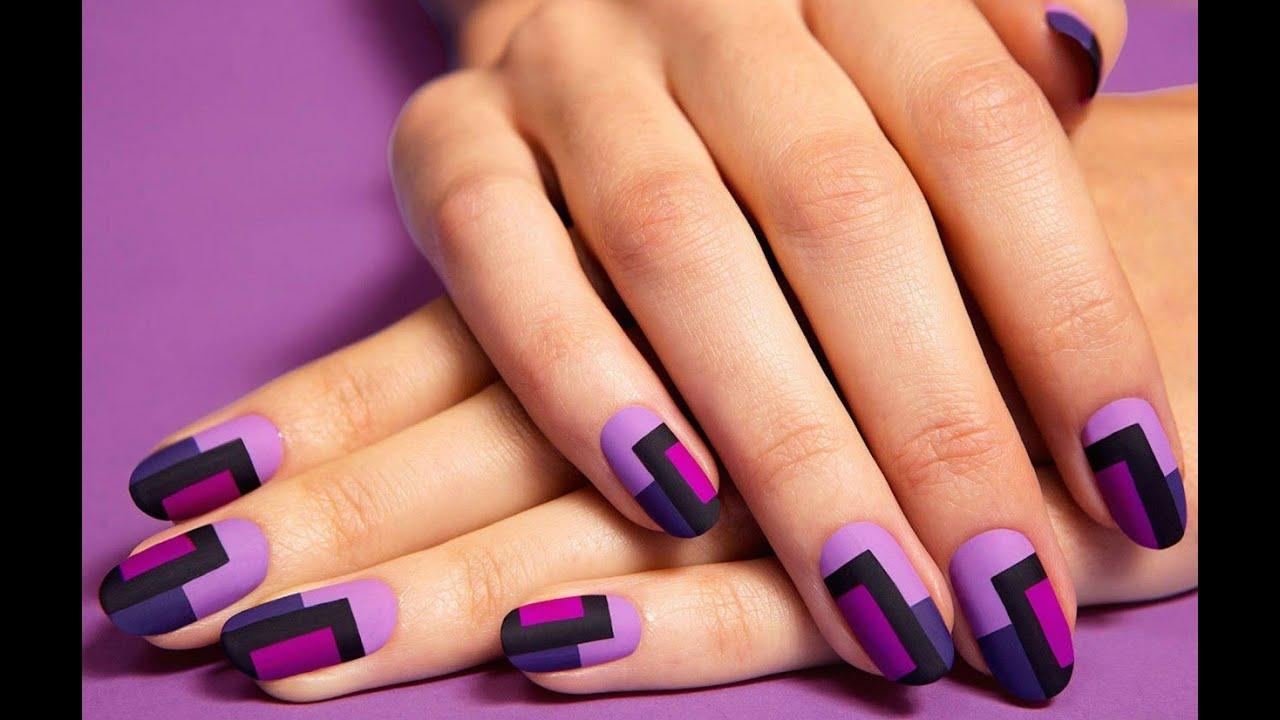 Модный маникюр гелевых ногтей