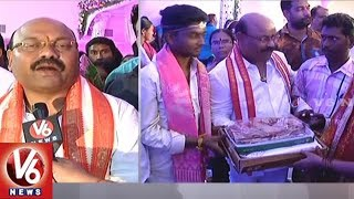 TRS Ministers And MPs Attends For Shatha Vivaha Mahotsavam In Nizamabad District
