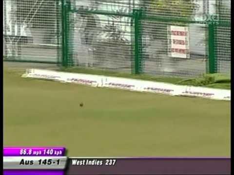 Justin Langer 146 vs West Indies 1st test 2003