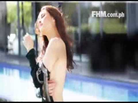 Marian Rivera - FHM 150th Issue Cover Girl _behind the scene