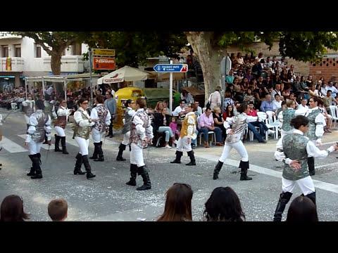 Baile Mosqueteras Almansa Capitanía Cristiana Albaida 2011