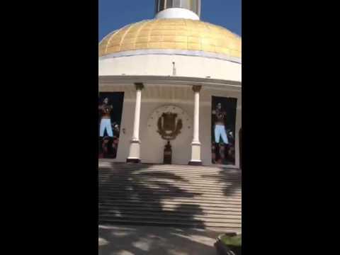 Nuevas imágenes de Bolívar en la Asamblea Nacional de Venezuela