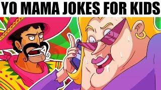 YO MAMA FOR KIDS! Cell Phone Jokes (Cartoons)