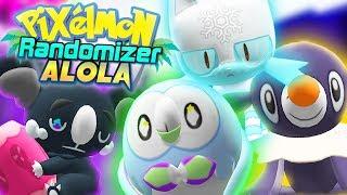 Pixelmon Randomizer Alola Episode 1 ? EPIC ALOLAN STARTERS! (Minecraft Pokemon Roleplay)