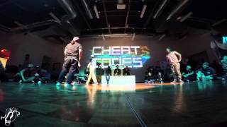 Seagge and Mari Koda vs Dudley & Guile | All Styles T8 | Cheat Codes | #SXSTV