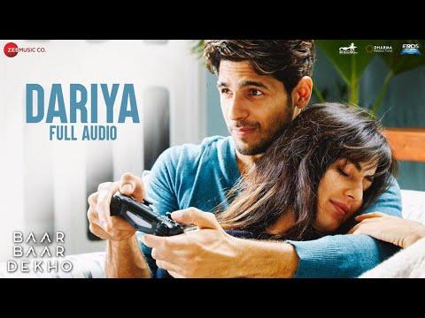 Dariya - Full Audio | Baar Baar Dekho | Sidharth Malhotra & Katrina Kaif | Arko