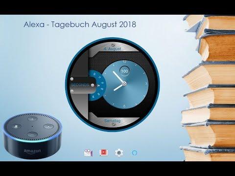 Alexa - Tagebuch vom 2. bis 4. August