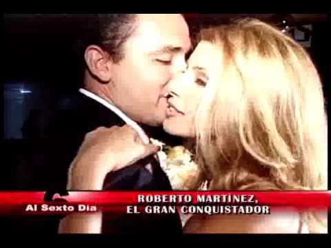 Roberto Martínez, el gran conquistador: los mil amores del 'ex' de Gisela