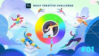Photoshop Daily Creative Challenge #01