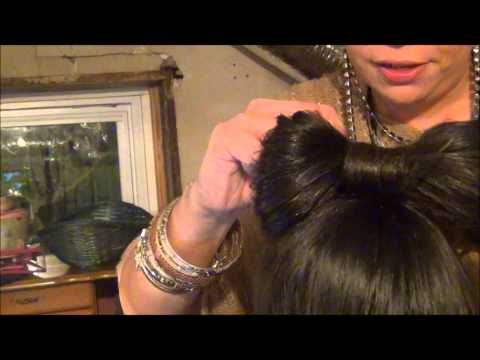 HOW TO MAKE A BOW IN YOUR HAIR TUTORIAL