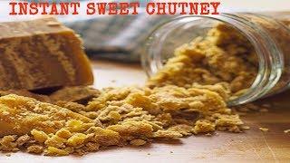 INSTANT SWEET CHUTNEY FOR CHILDREN | SIMPLE AND TASTY | TENGINAKAYI CHUTNEY