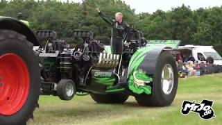 Light Modified Tractor Pulling Hassmoor 2019 by MrJo