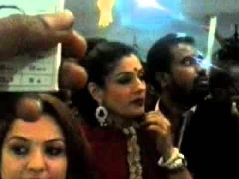 Raveena Tandon At Gold Hub Gulbarga video
