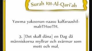 download lagu Surah 101 Al-qariah Shaykh Khalifa Tunaiji - Svensk översättning gratis