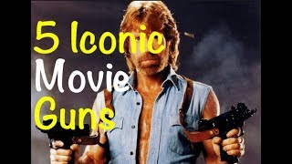 Top 5 Iconic Guns from Classic Action Movies