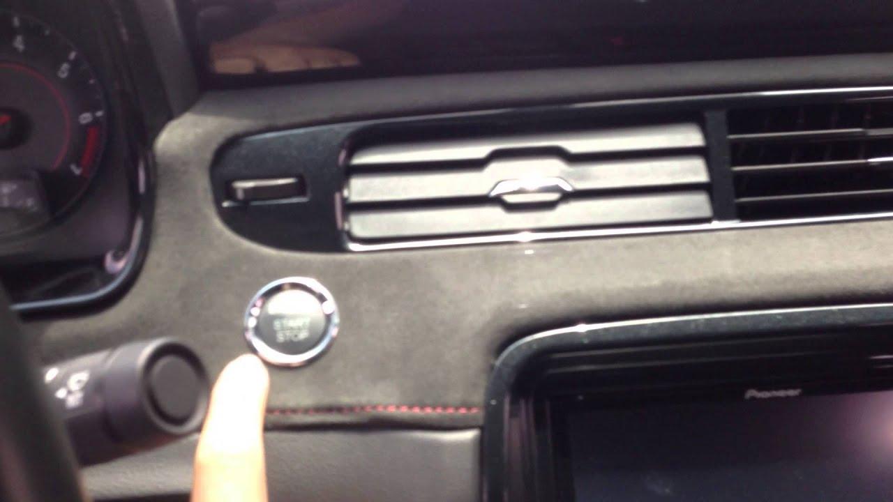 Chevy Camaro Push Start Youtube