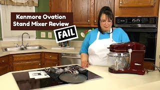 Kenmore Ovation Stand Mixer Review FAIL ~ Stand Mixer Review ~ Amy Learns to Cook